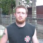 Outpost volunteer Chris Madden