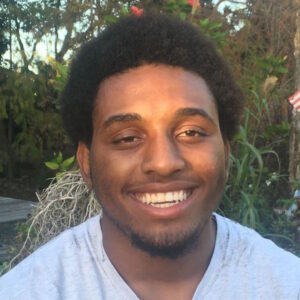 Volunteer Quinton Glenn belongs to the core team at the Everglades Outpost